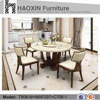 Chinese Dinning Set Luxury Dining Table