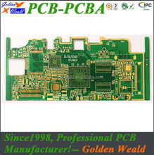 One station high density interconnect hdi pcb led pcb board with wifi/bluetooth/lan
