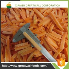 Top Grade frozen carrot chinese food brands