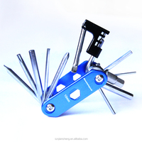 Mini Outdoor Pocket Tool Combination Screwdriver Set Multi-function Alloy bicycle bike repairing kit