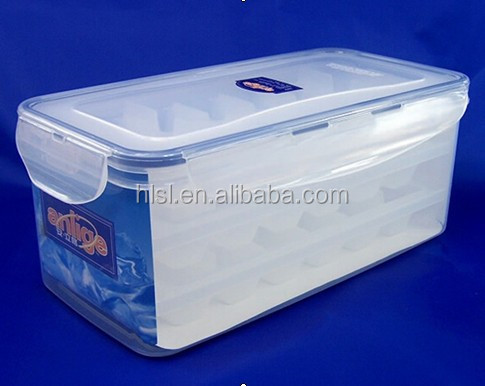 OEM IML pp plastic frozen food shipping boxes