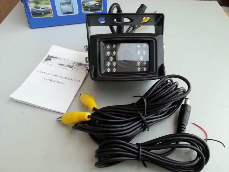 12V-24V wide working voltage security camera for trailer/truck/bus camera system