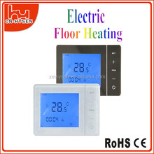 Room touch screen floor carbon film heating thermostat at cheap price