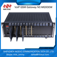 GSM 64 SIMs Gateway compatible with quintum gateway, PBX , VOIP , Billing meter etc