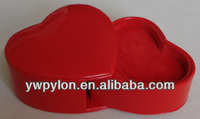 Hand made heart shaped trinket box