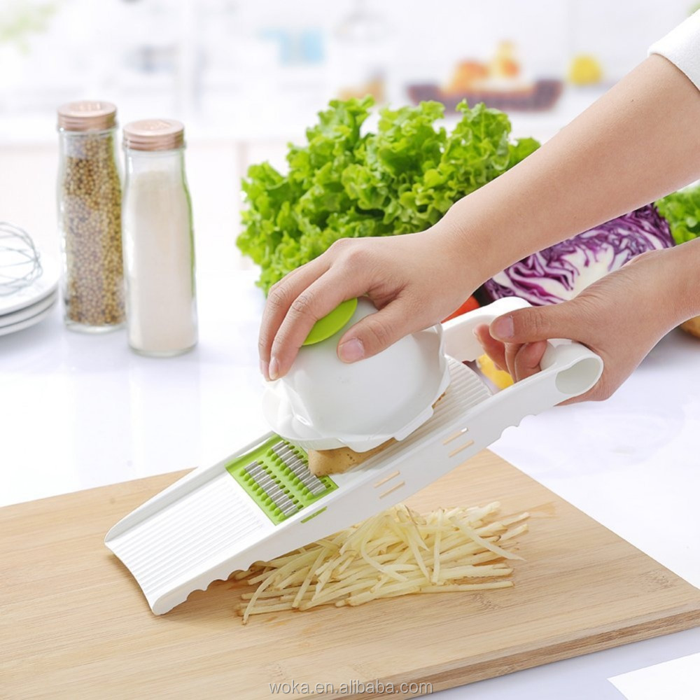 Magic vegetable peeler Mandolin slicer julienne herb veggie chopper