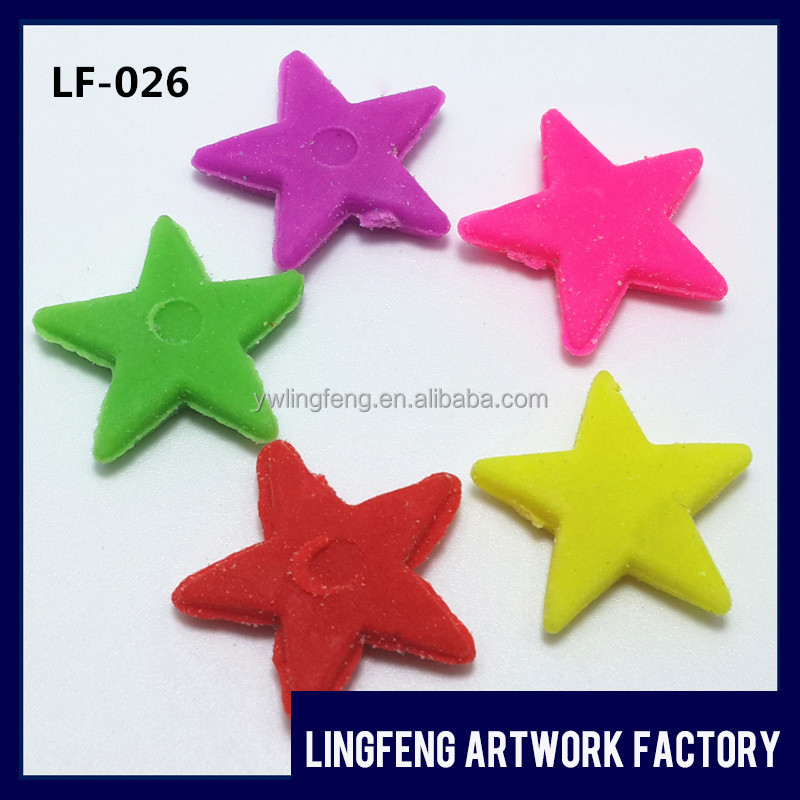 LF-026 linkfun 2cm*2cm EVA yiwu toys market five-pointed star grow expand water toys