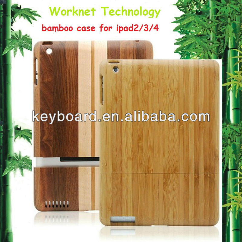 Environmental protection wood case for ipad 2/3/4 cover