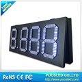 White color 15 inch 88.88 LED GAS PRICE SIGN