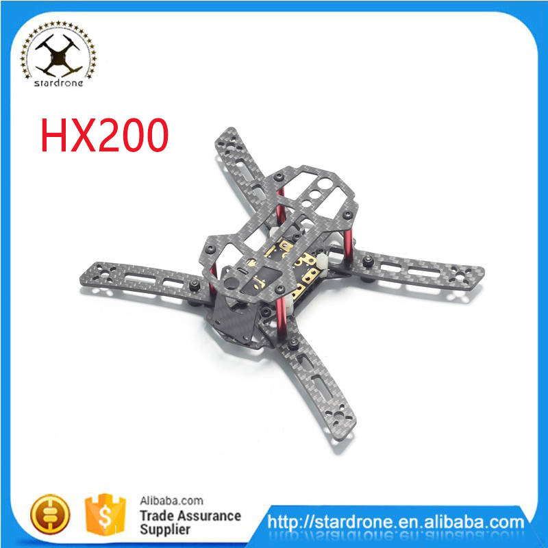 HX200 Carbon Fiber DIY Mini Frame with Power Distribution Board for FPV Racing Quadcopter