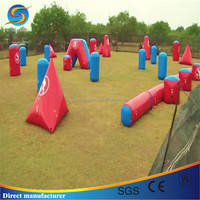 New inflatable paint ball obstacle