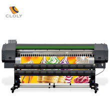 New hot model digital 3.2M DGT 4 color flex banner printing machine with automatic cleaning device