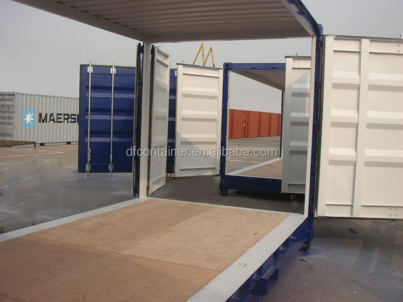 20' side wall door opening shipping container