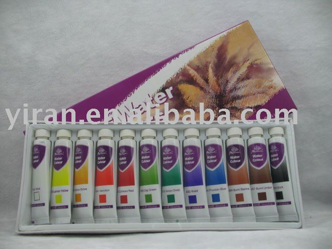 12 FINE WATER COLOURS