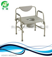 Hot sal adjustable steel toilet chair for elderly / patient / disabled