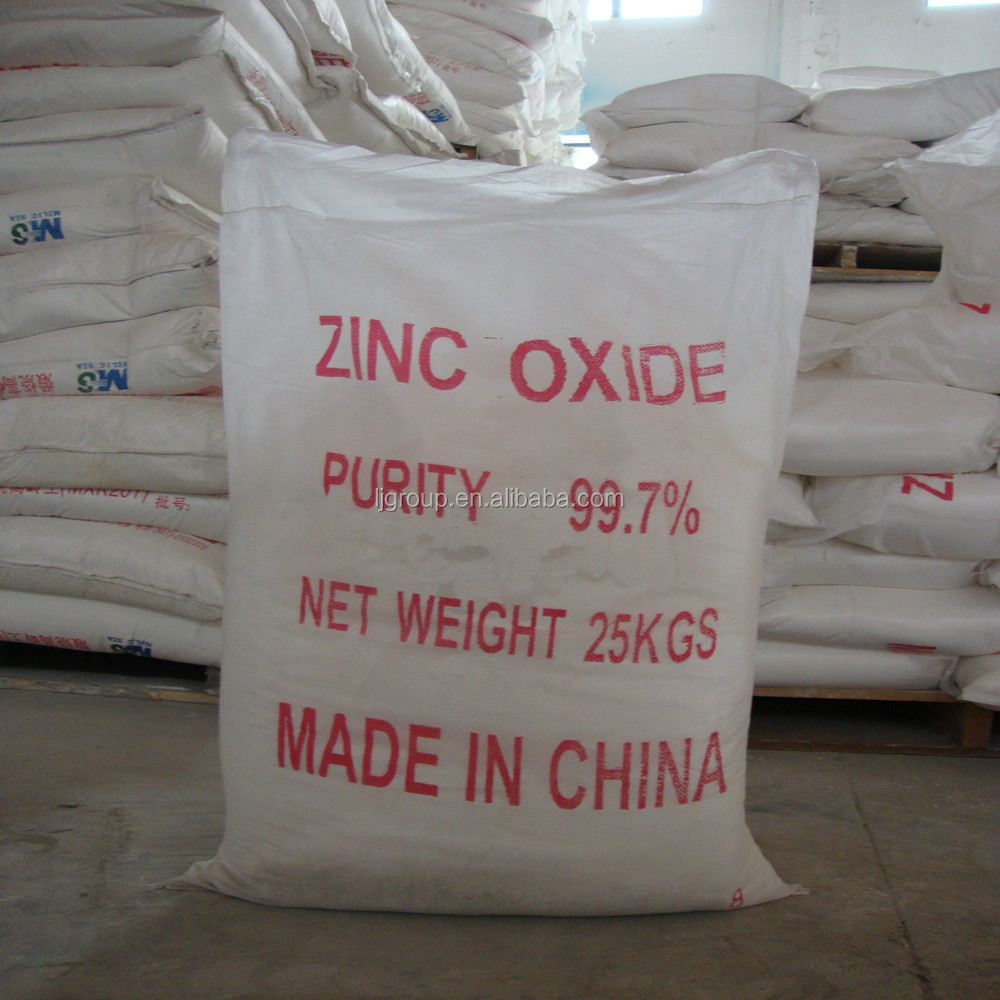 indirect method zinc oxide ZnO 99.7 samples plant