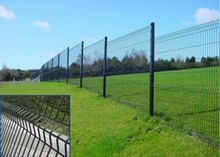 High Quality 3d wire mesh fence/perimeter fence security/ 3D Garden Fences Panels
