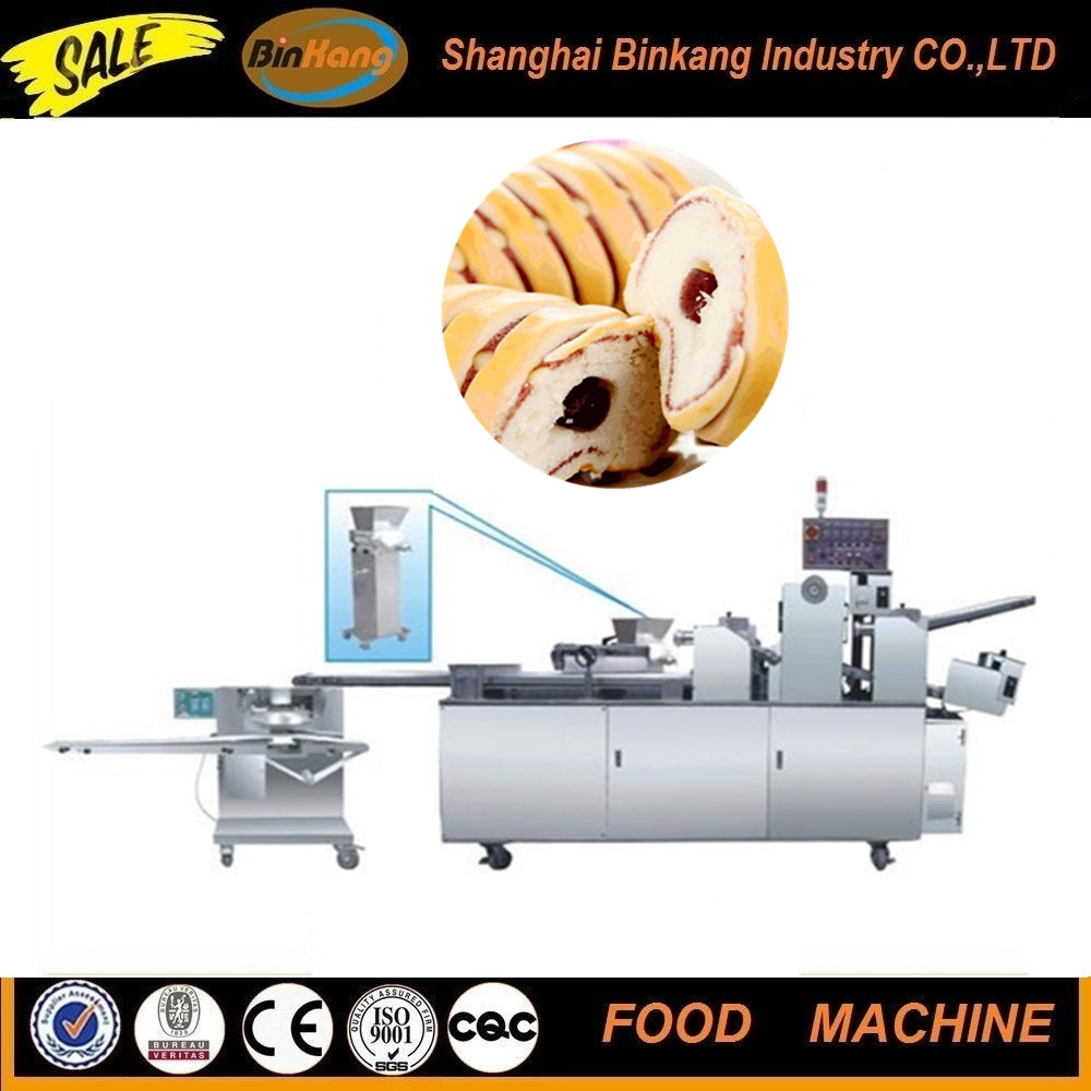 Full automatic small bread making machine /production line in shanghai
