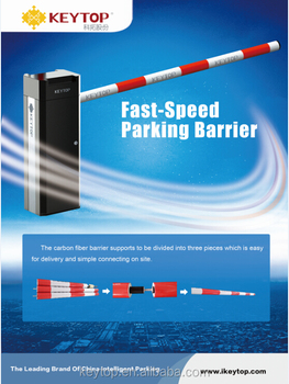 KEYTOP Auotmated Car Parking System and Parking Barrier Gate
