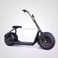 2016 new product 2 big wheel citycoco 1000W 60V electric scooter / electric halley motorcycle