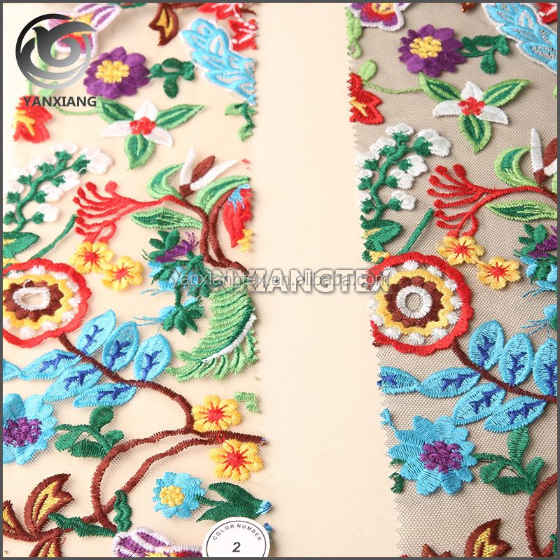 New Style Nice handwork embroidery designs suit