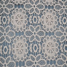 cotton dresses guipure chemical lace embroidery lace fabric