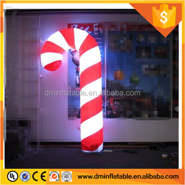 Christmas decoration inflatable walking stick/crutch/crosier