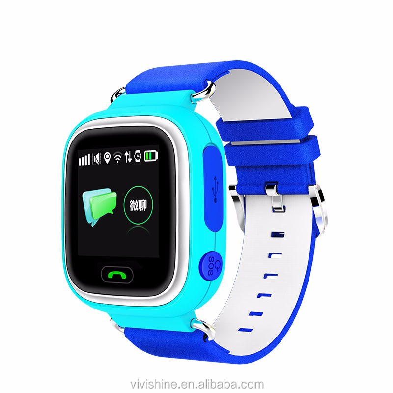 "Factory Price Hot smart watch Baby Smart Watch Phone 1.22"" Touch screen GPS Tracker for kids"