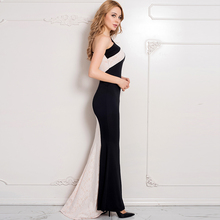 Best design one shoulder prom dress beautiful elegant muslim long dress