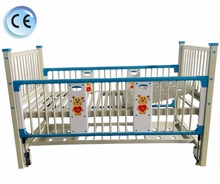 backrest adjustable hospital baby cot cribs bed for sale