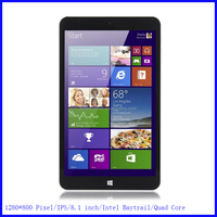 8.1 inch Quad Core Tablet PC With Dual Camera 5000mah Big Battery 16GB HDMI WIFI BT Mini Tablet PC Windows 8 OS
