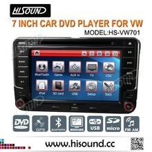 7 inch screen High quality new designing universal car dvd for VW