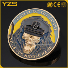 Cheap price high quality custom metal tungsten gold coin