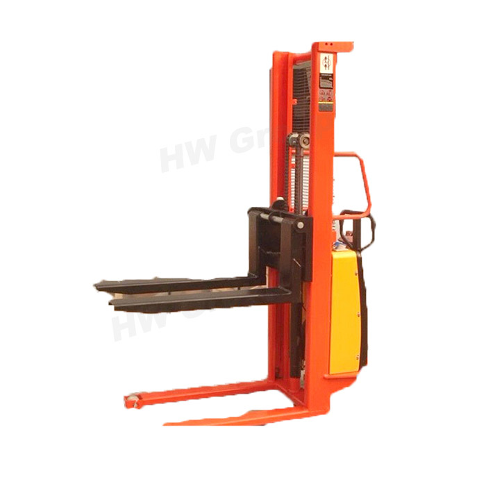 Small Electric forklift 1 ton mini forklift truck battery for sale