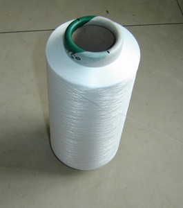 Bleach White DTY 150D 48F 100% Polyester Yarn for Weaving and Knitting