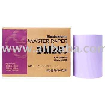 Master Paper, Electrostatic Paper Plate, Offset Plate