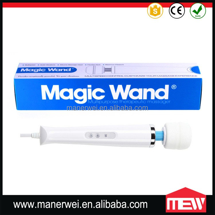 Australia Power Plug Sex Toy Vibrating Magic Wand Vibrator 30 Speed