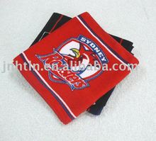 football club printed cotton bath towel