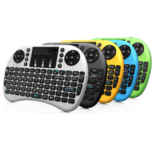 New design Rii 8 2.4G Mini Wireless Keyboard with LED rii8 black Touchpad for computer,Mobile phone,TV box and PTV