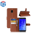 For Samsung Galaxy J7 2018 Flip PU Leather Case Cover