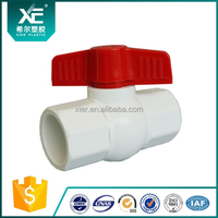 Butterfly Handle PVC Octagonal Ball Valve Female/ Male Thread