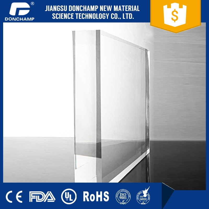 Best-selling 20mm plexiglass block aquarium plexiglass sheets plastic walkway