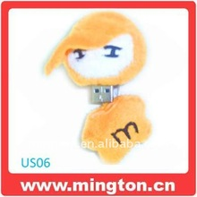 Cute plush dools usb key