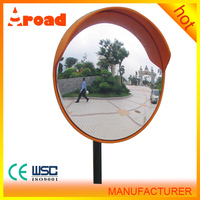 Waterproof ABS Back Safety Round PC Convex Mirror