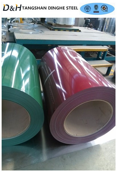 prepainted galvanized steel coil PPGI/PPGL Prepainted Metal Roofing metal sheet in coil
