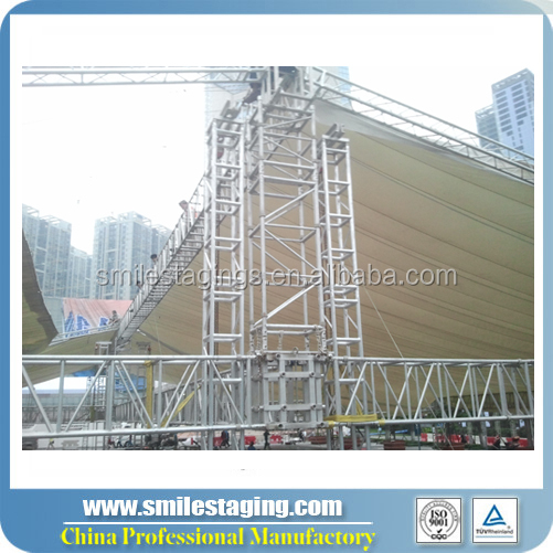 design for stadium outdoor exhibition stage lighting truss
