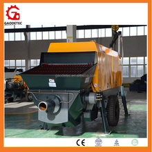 Good performance static mini smallest concrete conveying pump price
