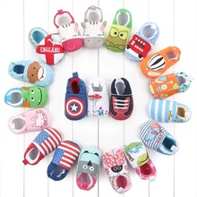 Wholesale Trendy Infant Casual Cotton Shoe Anti-slip Baby Girls Shoes