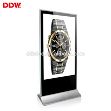 China best floor stand led digital signage lcd wireless touch screen monitor vertical renting advertising