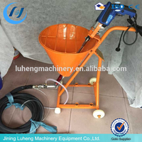 most popular gypsum/plaster/cement/mortar machine